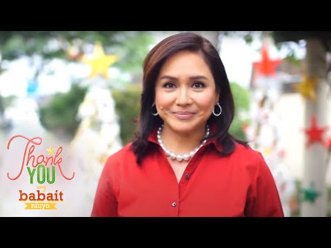 "ID - The ""Thank You Ang Babait Ninyo"" station ID is part of ABS-CBN's Christmas campaign for 2014. It's theme song was sung by ""The Voice Kids"" finalists Lyca, Da..."