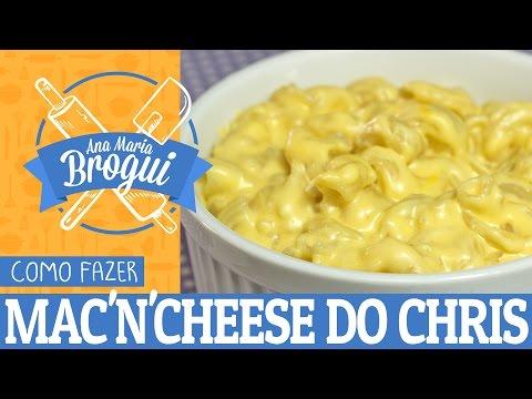 Receitas Salgadas - COMO FAZER MAC'N'CHEESE DO CHRIS (DA SÉRIE