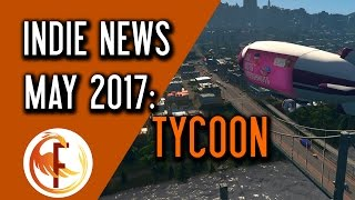 Welcome to Indie Game News May 2017. In Indie Game News we talk about top upcoming indie games, new indie game releases and everything else indie game related that is note worthy. This series will focus on different genres and hopefully will cover topics like tycoon, base building survival and many others. Watch Indie Game News the in the ► Playlist: http://bit.ly/Indie_Game_NewsHere are some timestamps for covered games:Wind of Trade 0:26Sim Airport 1:20Dominia 1:52-Production Line 2:29Interstellar Transport Company 3:03City Skyline Mass Transit 3:51Mad Tower Tycoon 4:27List of games covered in today's episode of Indie Game News:Wind of Trade http://store.steampowered.com/app/576260Sim Airport http://store.steampowered.com/app/598330Dominia http://store.steampowered.com/app/535230Production Line http://store.steampowered.com/app/591370Interstellar Transport Company http://www.mtworlds.com/ City Skyline Mass Transit http://store.steampowered.com/app/547502 Mad Tower Tycoon http://steamcommunity.com/sharedfiles/filedetails/?id=899090798 If you liked Indie Game News you may also enjoy some of those videos:► First Impressions and Reviews http://bit.ly/Feniks_First_Look► Early Access Monitor http://bit.ly/Early_Access_MonitorCHANNEL INFORMATION:Welcome to Feniks Gaming and News. This channel focuses on everything Indie game related. My goal is to promote and support Indie Game culture and share any information, news, reviews and insider knowledge with my viewers. I spend hours every day reading and learning about latest news so you don't have to. I stand for professionalism, consumer rights and good working ethics. Occasionally you will here find videos in which I express my views and opinions on latest development in Indie Game industry and YouTube itself. SOCIAL MEDIA:Follow me on Twitter and subscribe to my channels to stay in touch and keep up with daily videos I produce for your entertainment. For more Gaming and NewsSubscribe http://bit.ly/Subscribe_to_FeniksTwitt