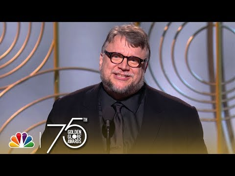 Guillermo del Toro wins Best Director - Golden Globes 2017