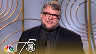 Guillermo del Toro Wins Best Director at the 2018 Golden Globes