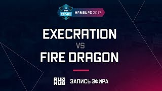 Execration vs Fire Dragon, ESL One Hamburg 2017, game 3 [Adekvat, Smile]