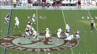 Johnny Manziel vs Alabama (2012)