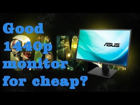 1440p Asus PB277Q review/unboxing