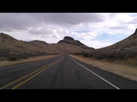 Davis Mountains Scenic Drive: TX 17 Balmorhea to Fort Davis (видео)