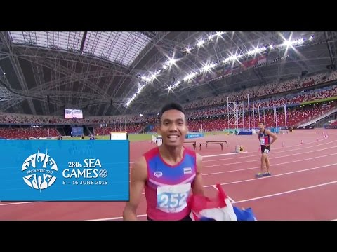 Athletics Mens 110m Hurdles Final (Day 6) | 28th SEA Games Singapore 2015