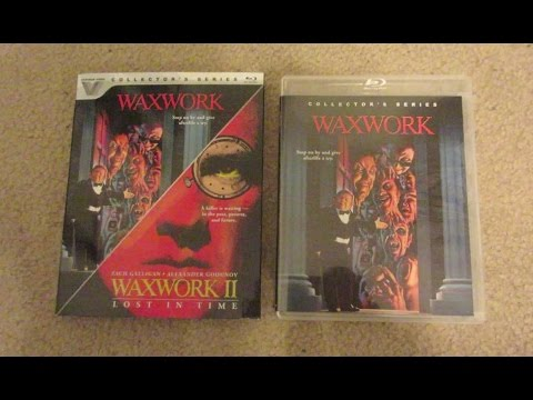 Waxwork & Waxwork 2 Blu-Ray Unboxing Review Vestron Video Collector's Series 80s Horror
