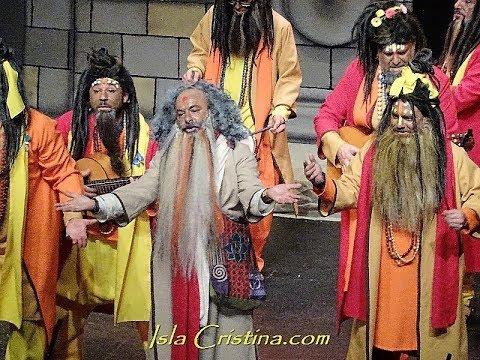 "Murga ""Los Monjes"" (Cuartos de final) Carnaval de Isla Cristina 2019"