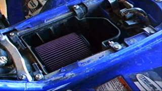 2. YFZ450 ATV K&N Air Filter Upgrade