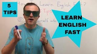 5 ефективних порад, як вивчити англійську швидко