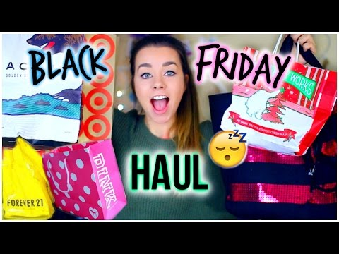 haul - Let's get this Black Friday Haul video to 30000 likes! So I went Black Friday Shopping!! Did you?! Let me know if you did and what your experience was like:...