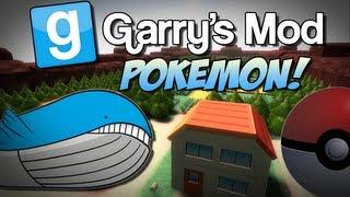 Garry's Mod   POKEMON MOD! (PokeBall Weapon&REAL Pokemon!)   Gmod