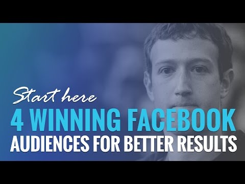 Watch '4 Winning Facebook Ad Audiences for Better Results - YouTube'