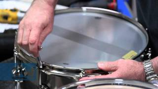 Video How To Tune Drums - by DW's John Good MP3, 3GP, MP4, WEBM, AVI, FLV September 2019