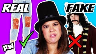 REAL VS FAKE Fashion Trends
