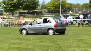Driffield United Kingdom  city photos : CRASHMAN STUNTS UK.....DRIFFIELD CAR SHOW HIGHLIGHTS 2013