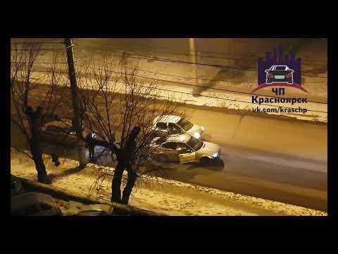Конфликт ул. Киренского 14.03.2018 ЧП Красноярск