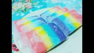 Resep Membuat Es Gabus Hunkwe Rainbow