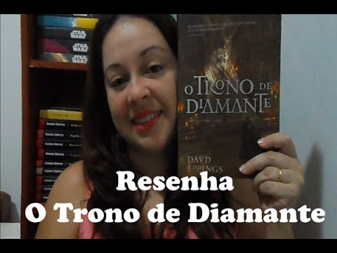 Resenha: Trono de Diamante (David Eddings) - Ed. Aleph