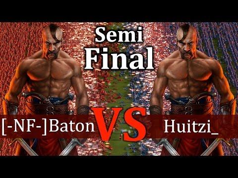 Cossacks 3 Tournament - [-NF-]Baton vs Huitzi_ | SEMI-FINAL - Expert vs Expert (видео)