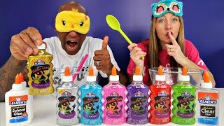 Video MOMMY CHEATED!! Blindfolded Slime Challenge Parents Edition MP3, 3GP, MP4, WEBM, AVI, FLV Juni 2019