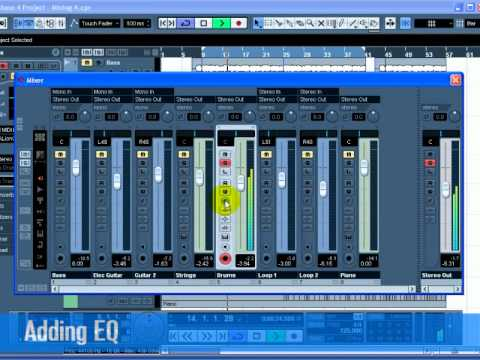 Cubase 5 * How to Mixing And Effects