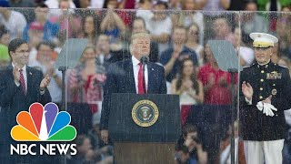 Watch Highlights From Donald Trump's Fourth Of July 'Salute To America' | NBC News