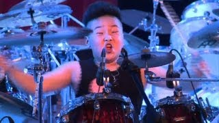 A China rock school sees children battling it out on stage for the top prize as they add another brick in the wall of the country's musical history. Duration: 02:14.
