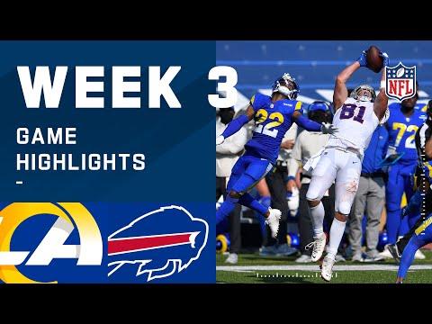 Rams vs. Bills Week 3 Highlights | NFL 2020