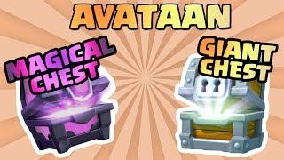 Tällä kertaa avataan Magical Chest, Giant Chest, Clan Chest 10/10, sekä muita pienempiä chestejä! Jos pidät videosta niin laita...