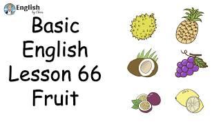 ผู้เริ่มต้น English - Lesson 66 - Fruit