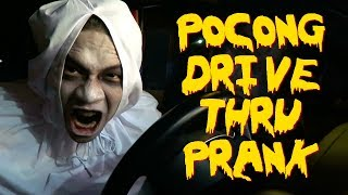Video POCONG DRIVE THRU PRANK INDONESIA! MP3, 3GP, MP4, WEBM, AVI, FLV Oktober 2017