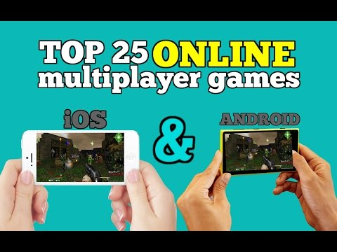 Top 25 online multiplayer games for Android/iOS via WiFi (INTERNET CONNECTION)
