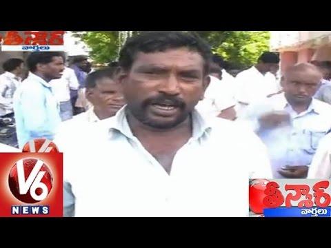 Electricity employees made office arrest by farmers  Teenmaar News