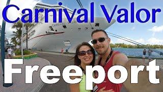 Freeport Bahamas  city photo : Carnival Valor 2015 - 5 Day Bahamas Cruise (Part 2 of 5) Freeport