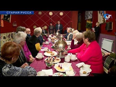 Депутат Государственной Думы Александр Коровников встретился с ветеранами Старорусского района