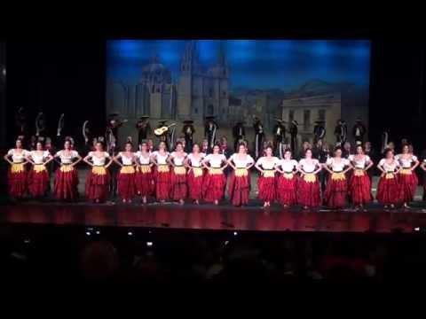 Guadalajara, Culebra, Tranchete, Negra y Jarabe... Ballet Amalia Hernandez