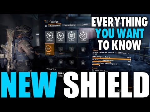 EVERYTHING YOU NEED TO KNOW ABOUT THE NEW SHIELD IN THE DIVISION & UNDERGROUND FREE FOR 1 WEEK