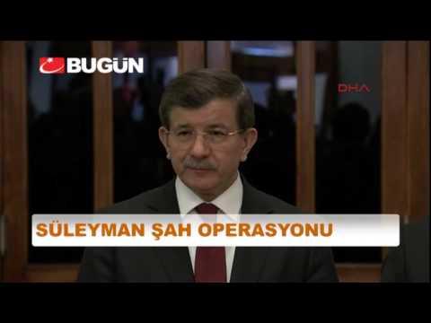 Davutoğlu'ndan Operasyon Açıklaması