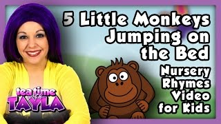 Five Little Monkeys, Nursery Rhymes with lyrics