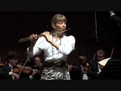 Jules Mouquet  Flûte de Pan, Concerto para Flauta e Orquestra / Pan et les bergers / Mvt. I (видео)