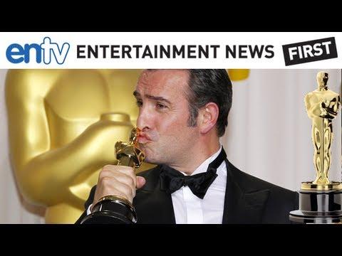OSCARS 2012 THE ARTIST WINS: Receives 5 Oscars, Dujardin, Best Director: ENTV