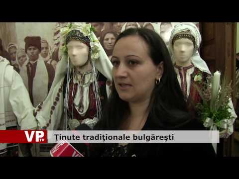 Ţinute tradiţionale bulgăreşti