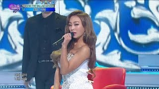【TVPP】Hyorin(SISTAR) - Erase (with Joo Young), 효린(씨스타) - 지워 (with 주영) @ 2014 KMF Live