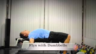 Exercise Index: Flys with Dumbbells