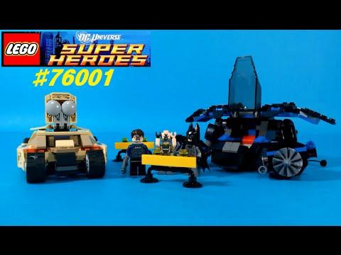 Vidéo LEGO DC Comics Super Heroes 76001 : Batman vs Bane : La course poursuite