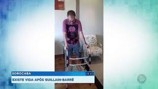Biólogo volta a andar após ficar tetraplégico por causa da síndrome de Guillain-Barré