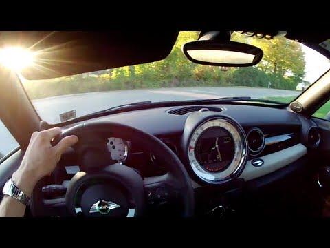 2012 Mini Cooper S Coupe - WINDING ROAD POV Test Drive (видео)