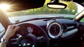2012 Mini Cooper S Coupe - WINDING ROAD POV Test Drive