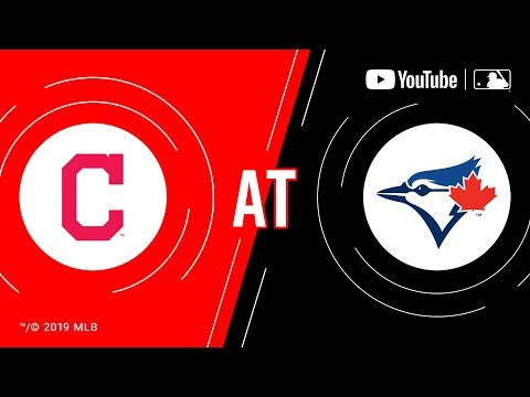 Video: Indians at Blue Jays   MLB Game of the Week Live on YouTube